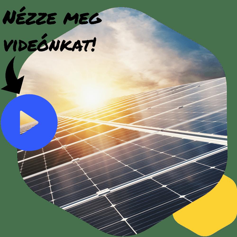Solar Építő - Napelemes rendszerek